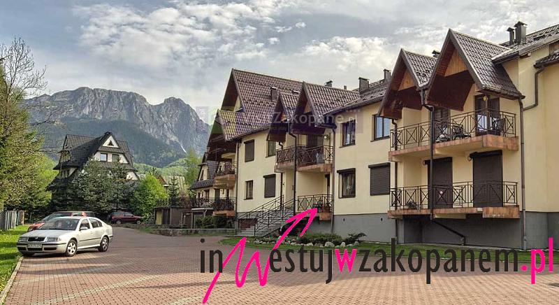 Kameralny apartament z pięknym widokiem na Tatry