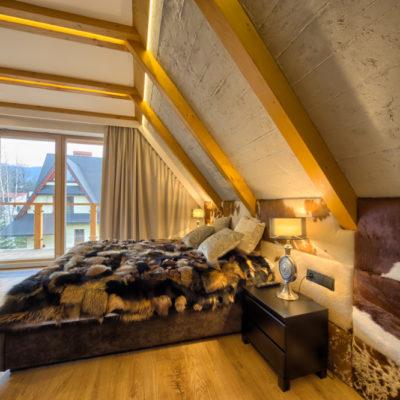 Penthouse - sypialnia