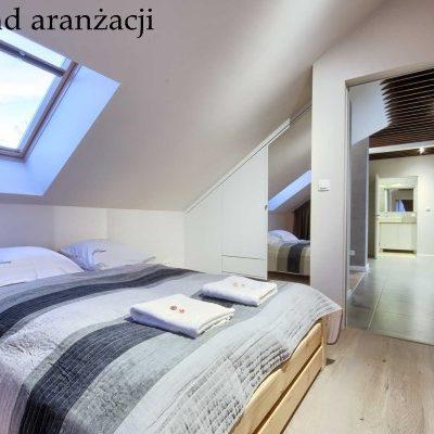 Przykład aranżacji - sypialnia