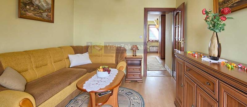 Kameralny apartament z widokiem na Giewont